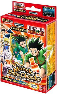Miracle Battle Carddass - HUNTER X HUNTER [Four Challengers] HHS01