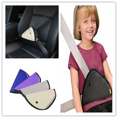 2X Car Safety Cover Shoulder Harness Strap Seat Belt Clip for Kid Pregnant woman