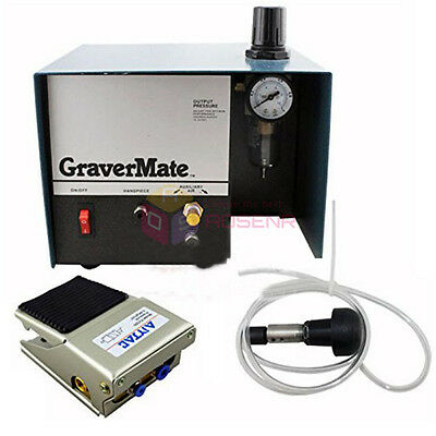 New Single Ended Pneumatic Impact Engraving Machine Jewelry Engraver Graver Tool