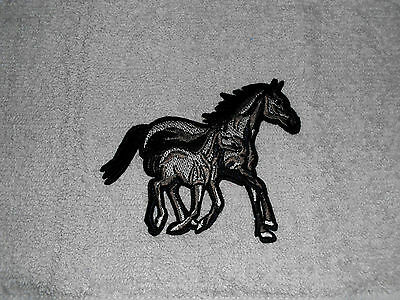 Kitchen Dish Towels With Crochet Tops Listing T1164 Horses