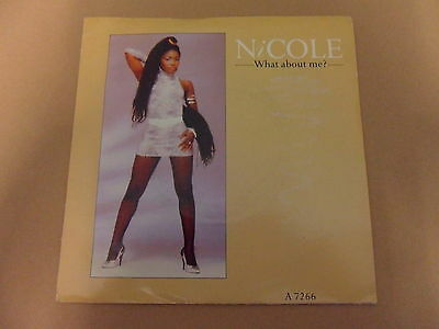 """Nicole What About Me 7"""" Vinyl"""