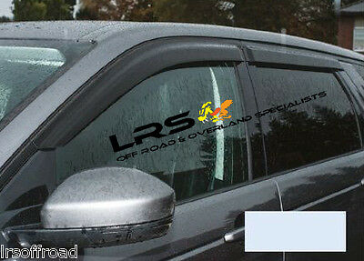 Land Rover Discovery Sport 2014 - 2015 Wind Deflector Set - Front & Rear DA6079