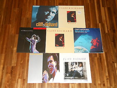 "Cliff Richard - SAMMLUNG - 7 Maxis (12"") - Two Hearts - Silhouettes -Remember Me"