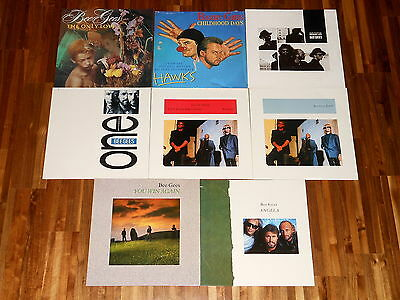 """The Bee Gees - Barry Gibb - SAMMLUNG - 8 Maxis (12"""") - E.S.P. - The Only Love"""