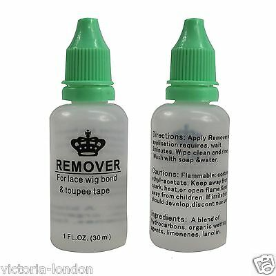 Remover for Lace wig bond & toupee tape 1FL.OZ 30ml Effective & Adhesive Remover