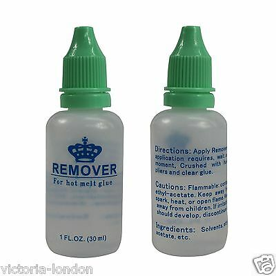 Remover adhesive lace wig for Hot melt glue 30ml 1FL.OZ.