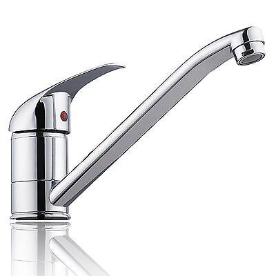 Bathroom Kitchen Laundry Basin Sink Mixer Faucet Tap Solid Brass Long Spout
