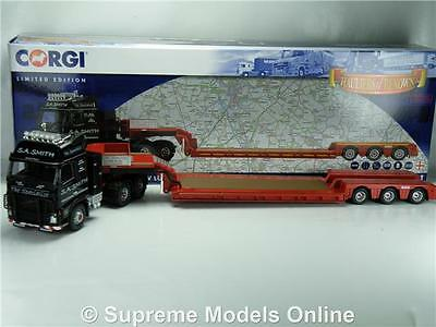 Corgi Volvo Fh Sa Smith Cc14041 Nooteboom Trailer 1:50 Model Modern Truck K8Q