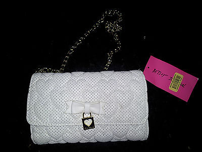 Betsey Johnson Always Be Mine Perfect Little  Purse
