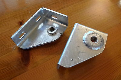 Seatbelt Mounting Brackets Galvanized for Land Rover Series 2A/3 & Defender