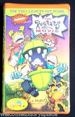 The Rugrats Movie VHS Video Nickelodeon 1999 Clamshell NEW Sealed