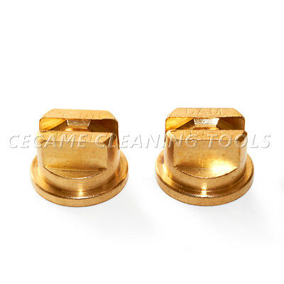 Brass Tee Jet Carpet Cleaning Wand Spray Tips Valve Nozzles T Jet 11004 Uni