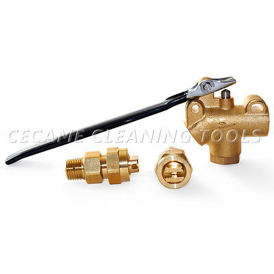 "Tee Jets 11004 Angle Valve 1/4"" Combo Pack Carpet Cleaning Truckmount Extractor"