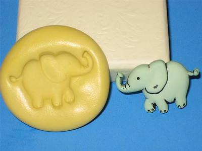 Elephant Silicone Push Mold A11 For Baby Shower Fondant Chocolate Candy Craft
