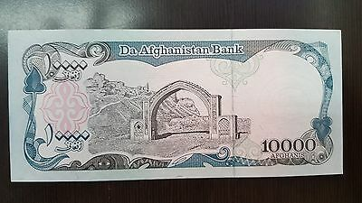10000 Afghanis Paper Money 1939 Afghanistan Bank Realy Good Condition