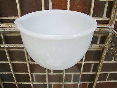Vintage sunbeam mixmaster small mixing bowl white milk glass number 24
