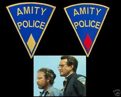 Amity police Martin Brody lot 2 ecussons police d'Amity Jaws police patch lot