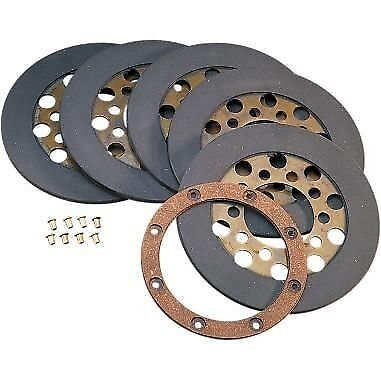 Wet or Dry Friction Plate Set Drag Specialties  17-0010A-BOX