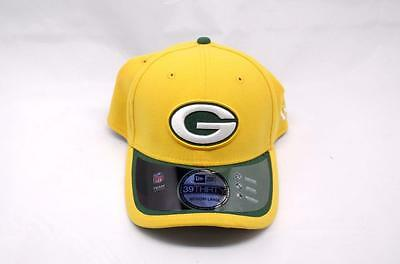 NFL Green Bay Packers New Era Hat Cap Reverse 39Thirty Stretch Fitted Med  Large d0ca89bf8b87