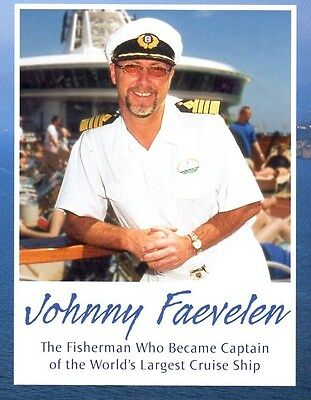 Royal Caribbean Cruise Line Adventure of Seas Captain Johnny Ship History Book