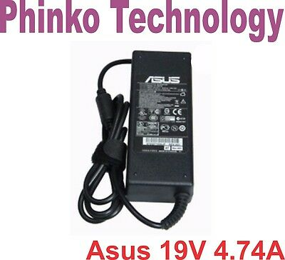 AC Adapter Charger for ASUS Laptop Power supply +cord 19V 4.74A 90W ADP-90SB BB