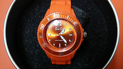 Bio Oil Promotional Ladies Womens Watch in Gift Tin