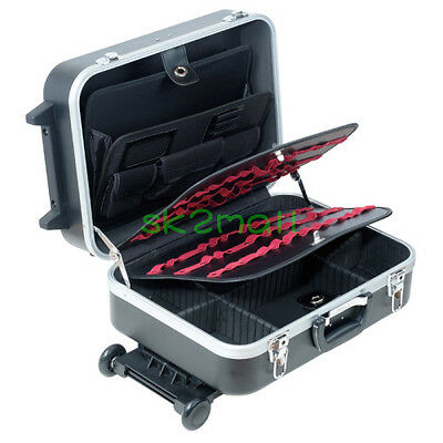 ProsKit TC-311 Heavy-Duty ABS Case With Wheels And Telescoping Handle Tool Box
