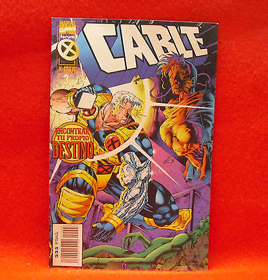 Cable. Marvel Comics Especial X-Men 20 Aniversario Nº 3
