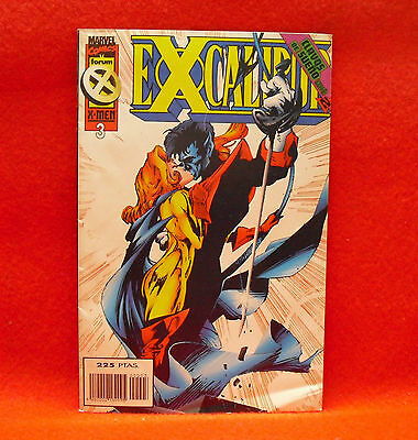 Excalibur. Marvel Comics X-Men. Nº 3