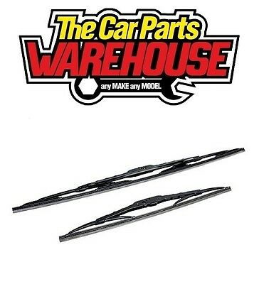 "Any Mixed Pair of Wiper Blades Good Quality too fit ALL ""hook"" type Wiper Arm 18"