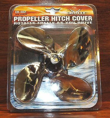 Bully (CR‑402) Novelty Spinning Propeller Hitch Cover **NEW**