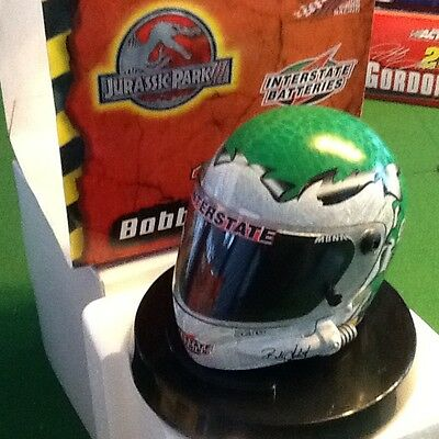 New 1:4 Scale #18 Bobby Labonte Interstate Batteries Jurassic Park 2001 Helmet