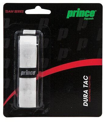 Prince DuraTac Squash Replacement Grip (Available in white and black)