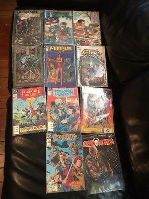 Lot of 24 Comics DC Dark Horse Top Cow Image Black Cross Warlord Collectible NR!