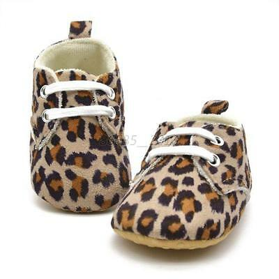 Soft Sole Sneaker Infant Toddler Baby Boy Girl Crib Shoes Sneaker 0-18 Months
