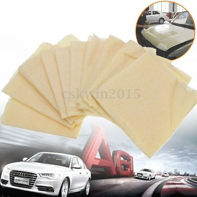 10Pcs Non-woven Auto Car Lint Dust Cloth Tool 35x22cm Sticky Paint Body