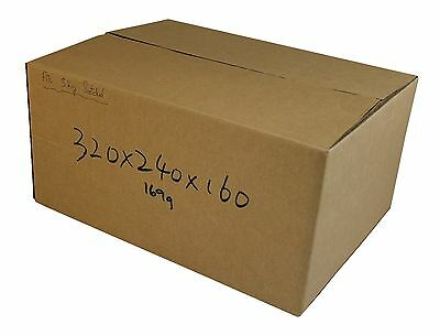100 320x240x160mm Cardboard Boxes 5Kg Satchel mailing Carton boxes Mailing Boxs