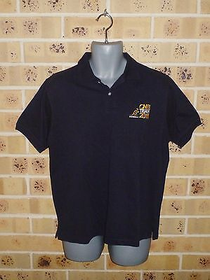 Australian Wallabies XL Mens Rugby Union Jersey Polo Top Pre Owned