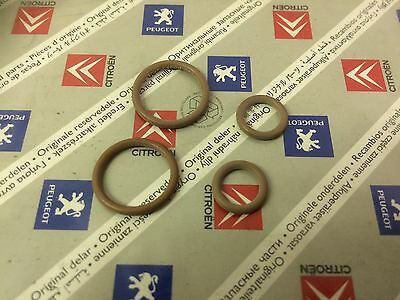 Peugeot Citroen 4 Air Con Pipe O Ring Rubber Seals 6460T9 & 6460CR