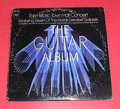The Guitar Album -- Historic Town Hall Concert  -- 2 LPs / Jazz