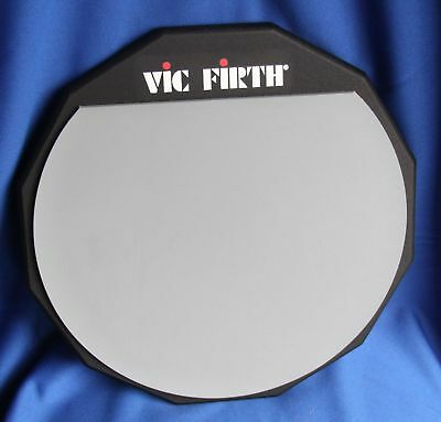 Vic Firth 12 Inch Single Sided Snare Practice Pad, PAD12