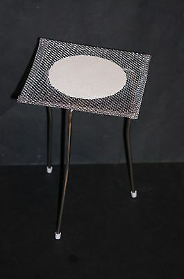 Bunsen Burner Tripod Stand Stainless Steel and Wire Gauze Brand New