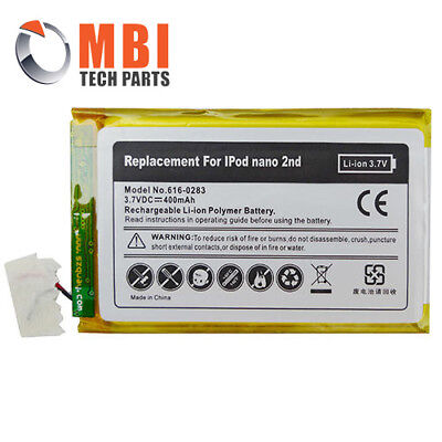 New Replacement Rechargeable Battery for Apple iPod Nano 2 2nd Generation