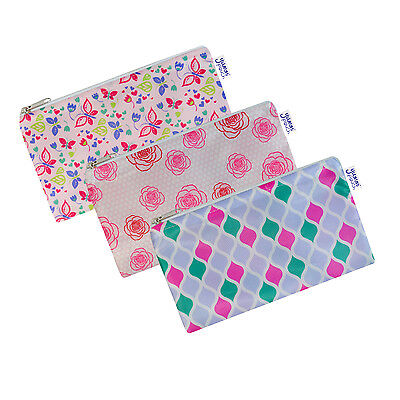 Reusable Cloth Snack Bags - Set of 3 - Fab Collection