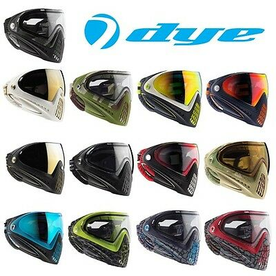 Dye i4 Paintball Airsoft Full Face Protection Adjustable Anti-Fog Mask Goggle