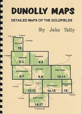 Dunolly Maps by John Tully