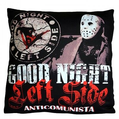Pillow Anti Antifa GNLS Hooligans Fans Ultras Supporters Good Night Left Side