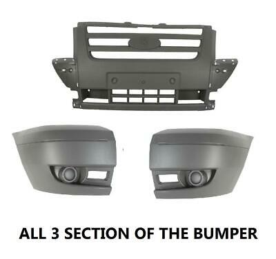 Ford Transit Mk7 2006 - 2014 Front Bumper Complete All 3 Sections