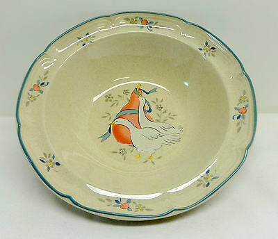 International China Marmalade Geese Rimmed Vegetable Serving Bowl Japan