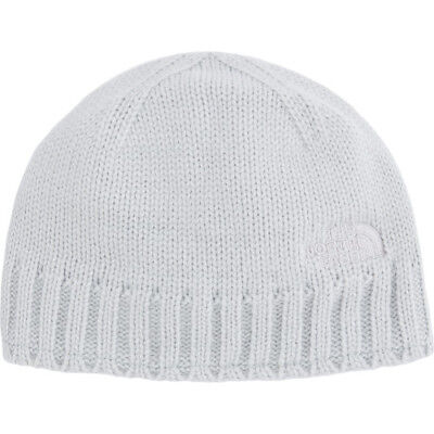 North Face Tenth Peak Unisex Headwear Beanie Hat - High Rise Grey One Size